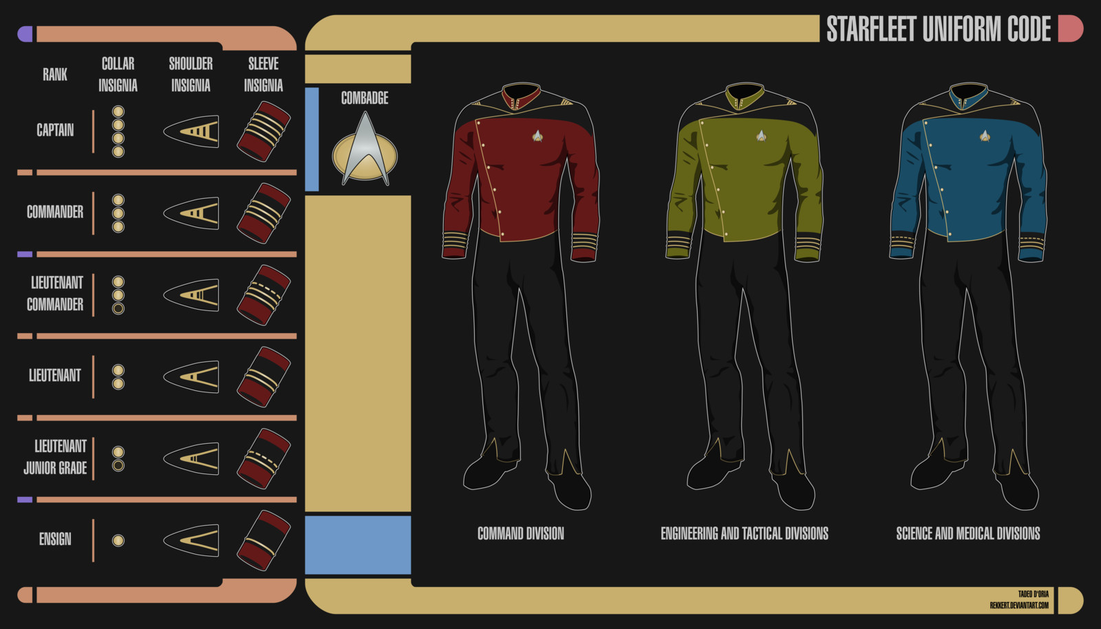 Star Trek Alternate Uniform Concept