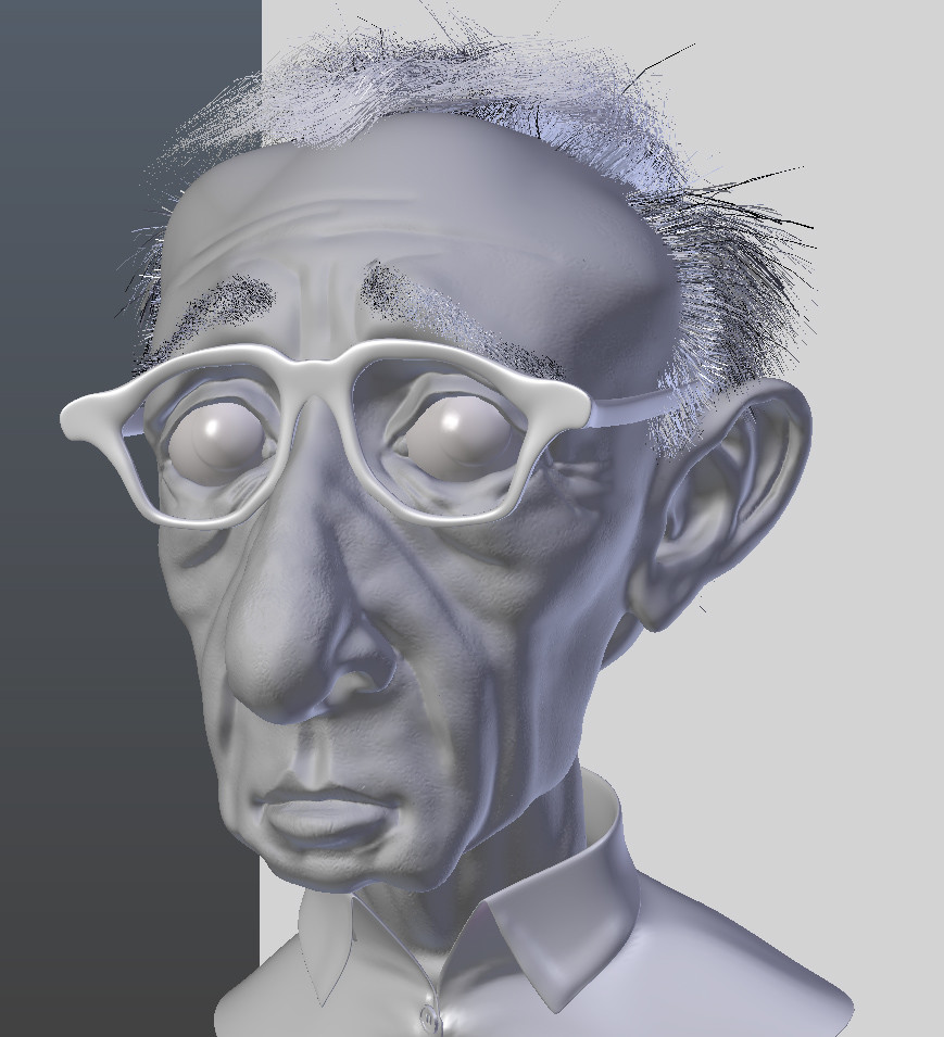 Barry mccarthy woody allen caricature blender