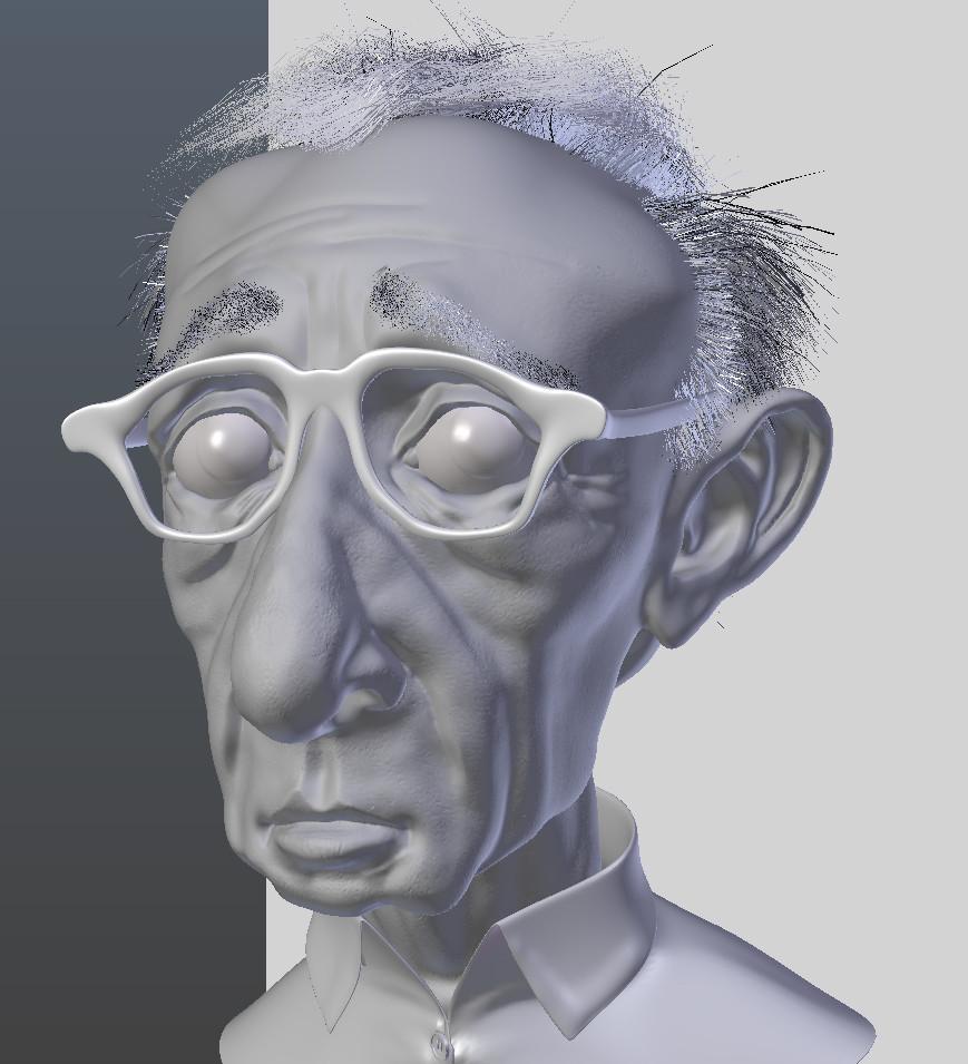 Woody Allen Blend view