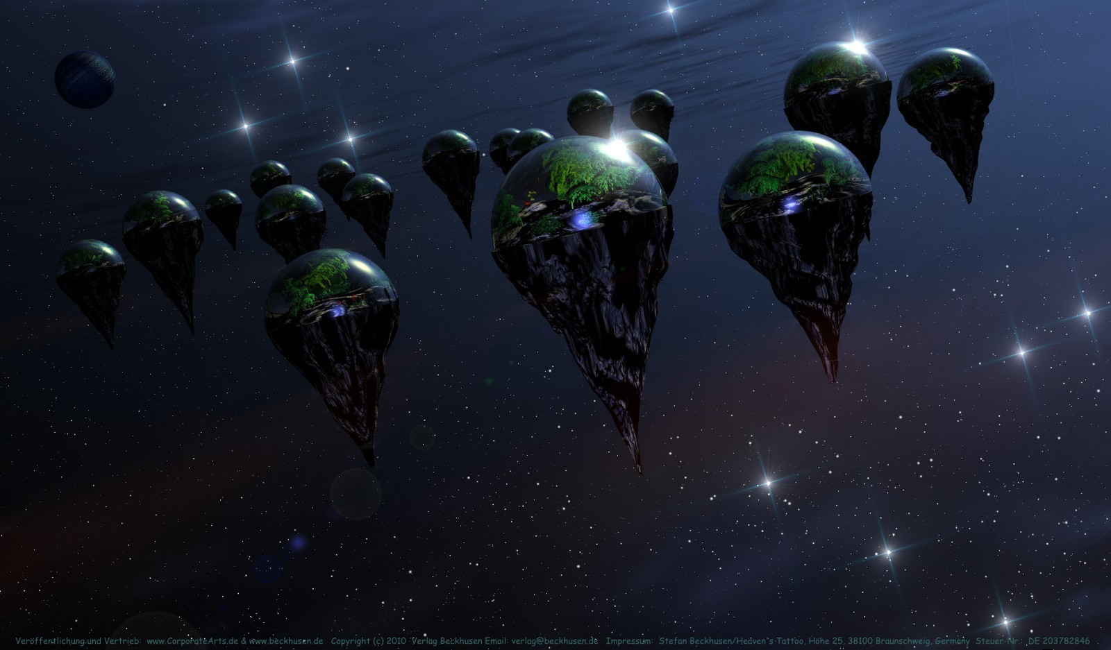13 Floating islands culture in space