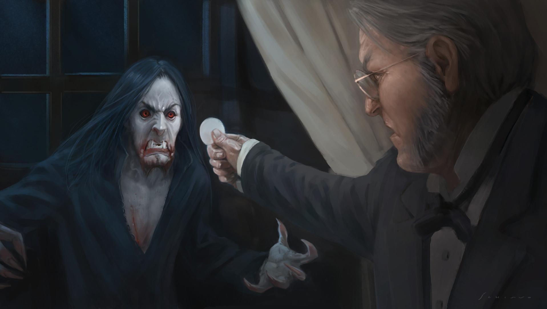 Dracula and Van Helsing | Jacopo Schiavo | Horror ...