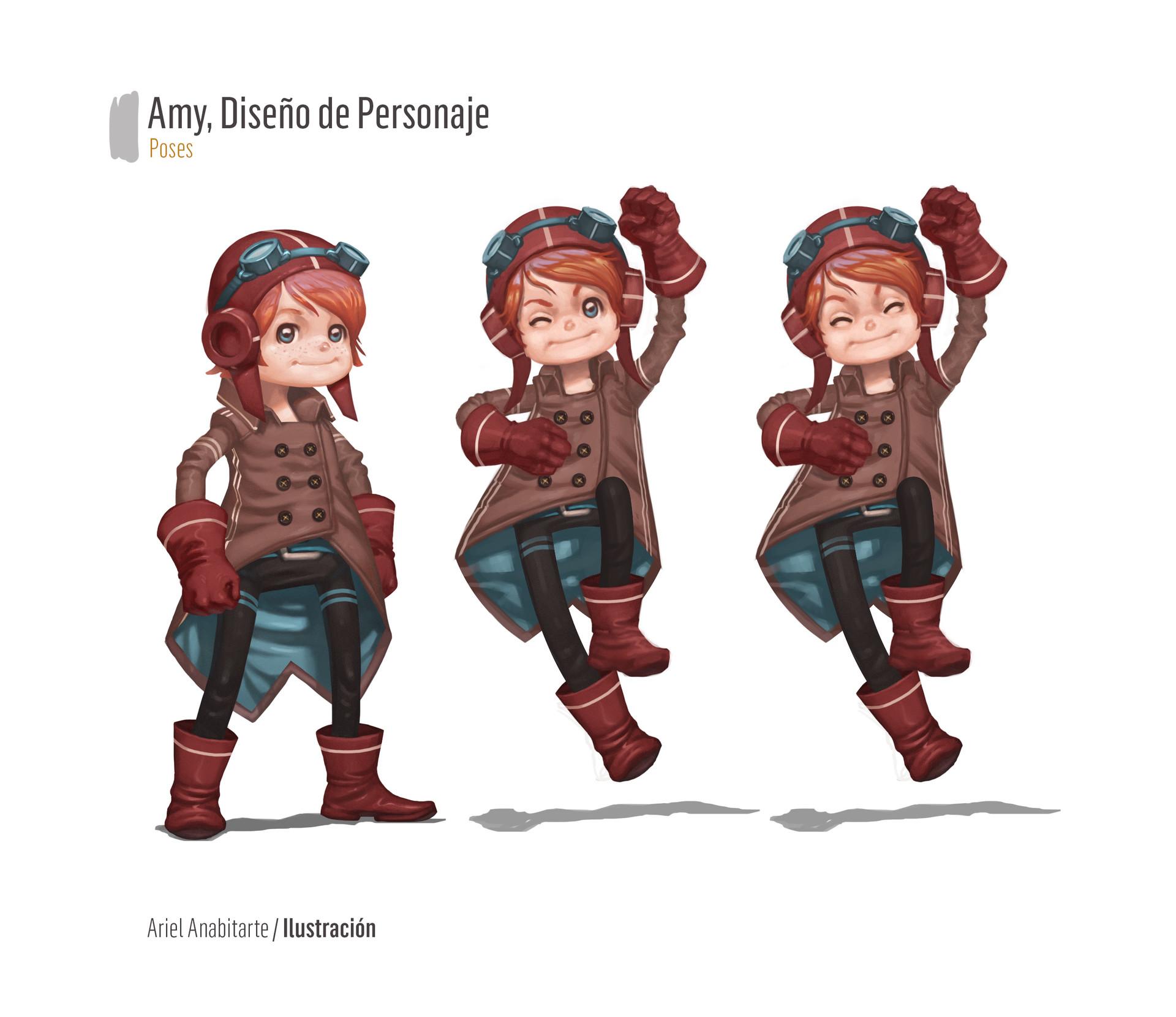 Ariel anabitarte personaje02 poses