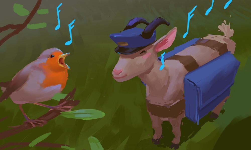 Devin platts goat robin