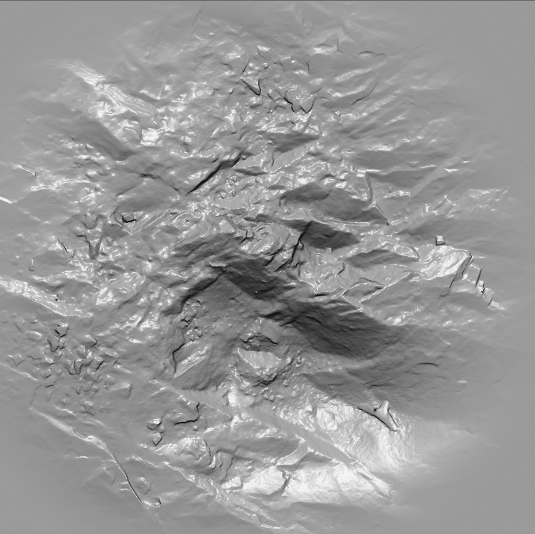 ArtStation - Eroded River Bed Rock Vector Displacement Map Pack