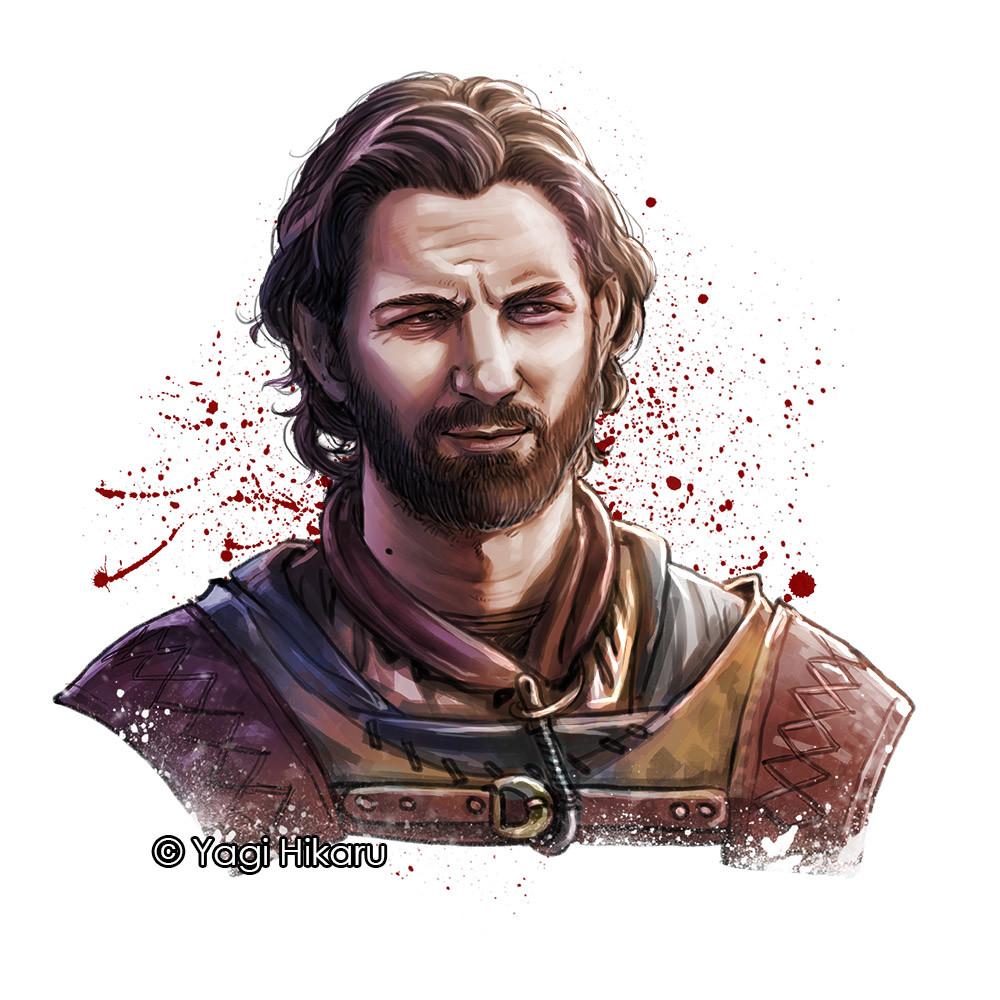 Hikaru Yagi - Daario Naharis from Game of Thrones Daario Naharis Fan Art