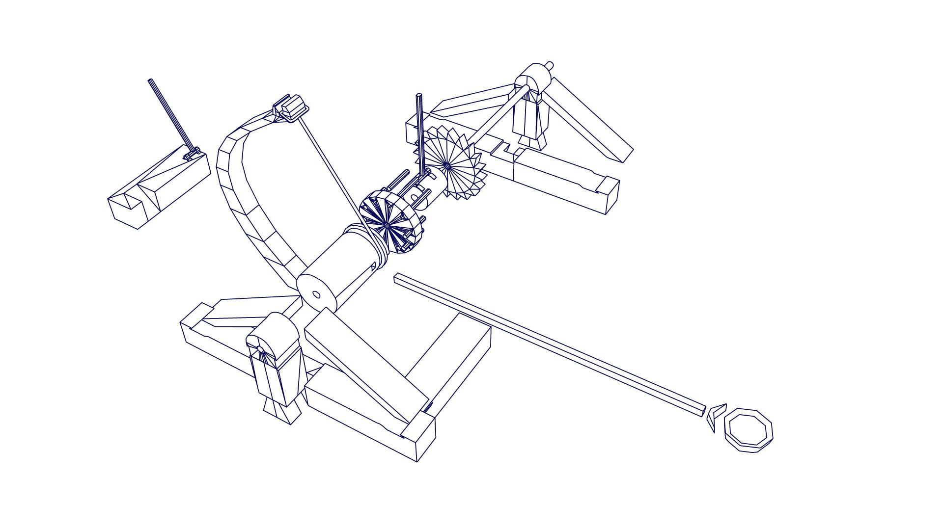 Artstation Da Vincis Catapult Paulina Igras Diagram Viewing Gallery