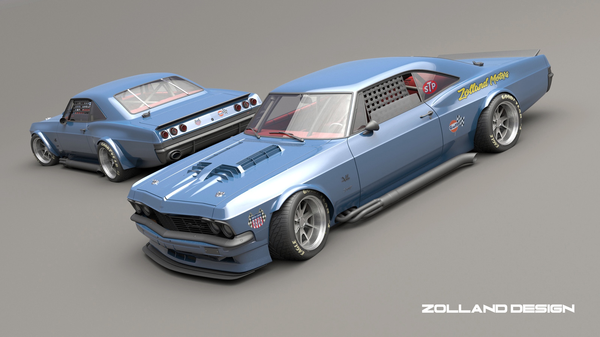 ArtStation - impala vintage racing, bo zolland