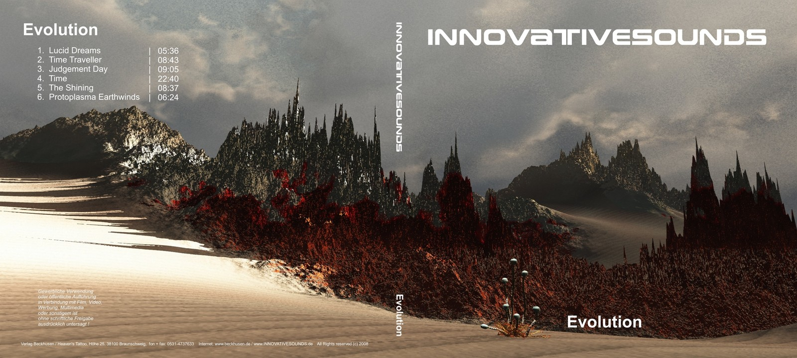 EVOLUTION  (CD Cover)