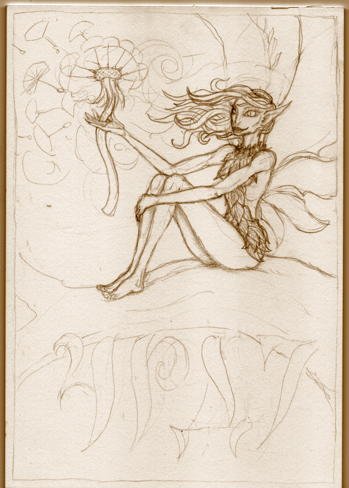 ... pencil lineart