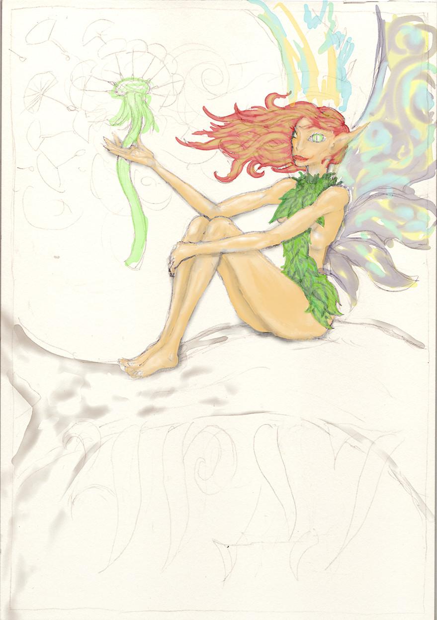 ... Artrage colour study