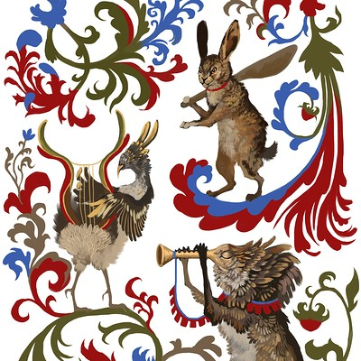 Catherine chistyakova medieval creatures by sirmaril dbdsea0