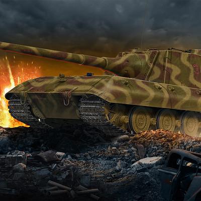 Valery petelin jagdpanzer e 100