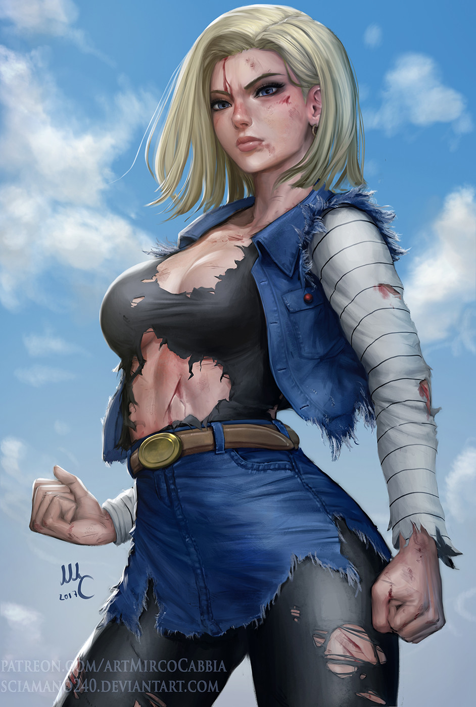 Mirco cabbia android18 finale 3 3