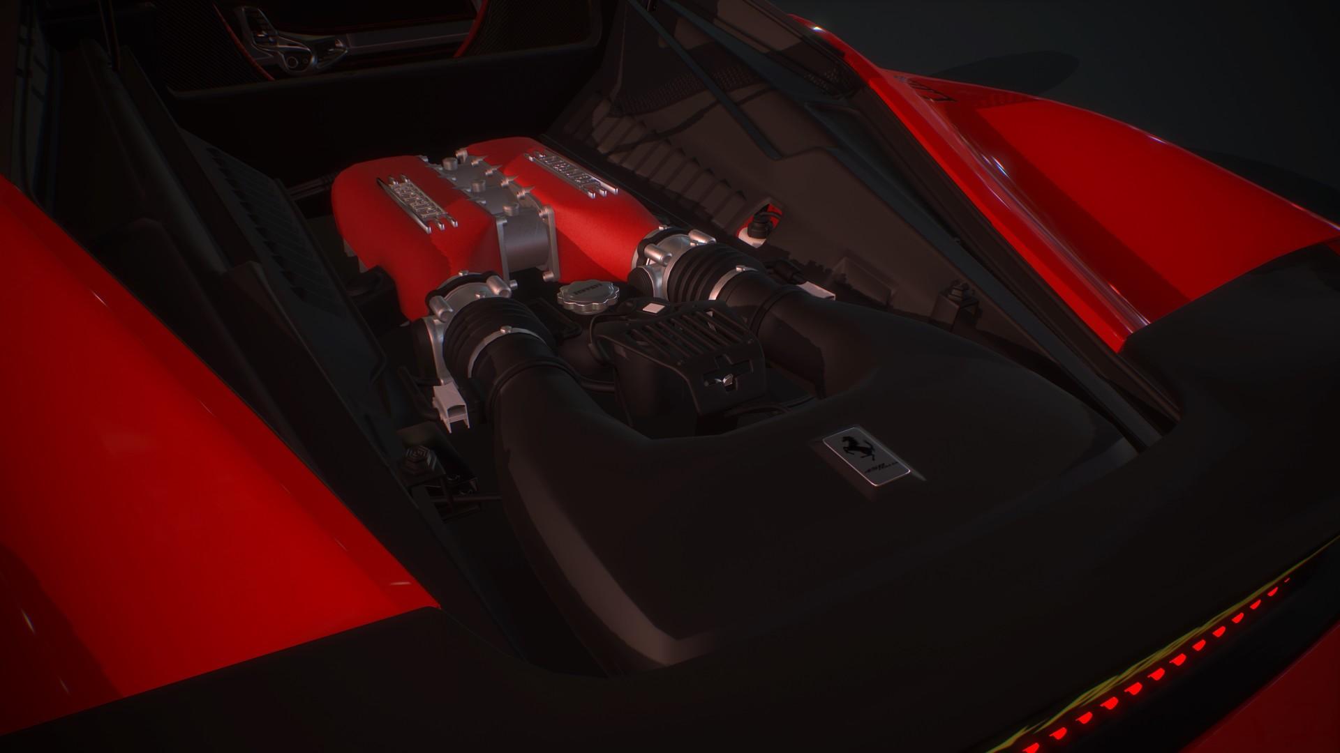 ArtStation - Liberty Walk Ferrari 458 Italia, Dami Nuga
