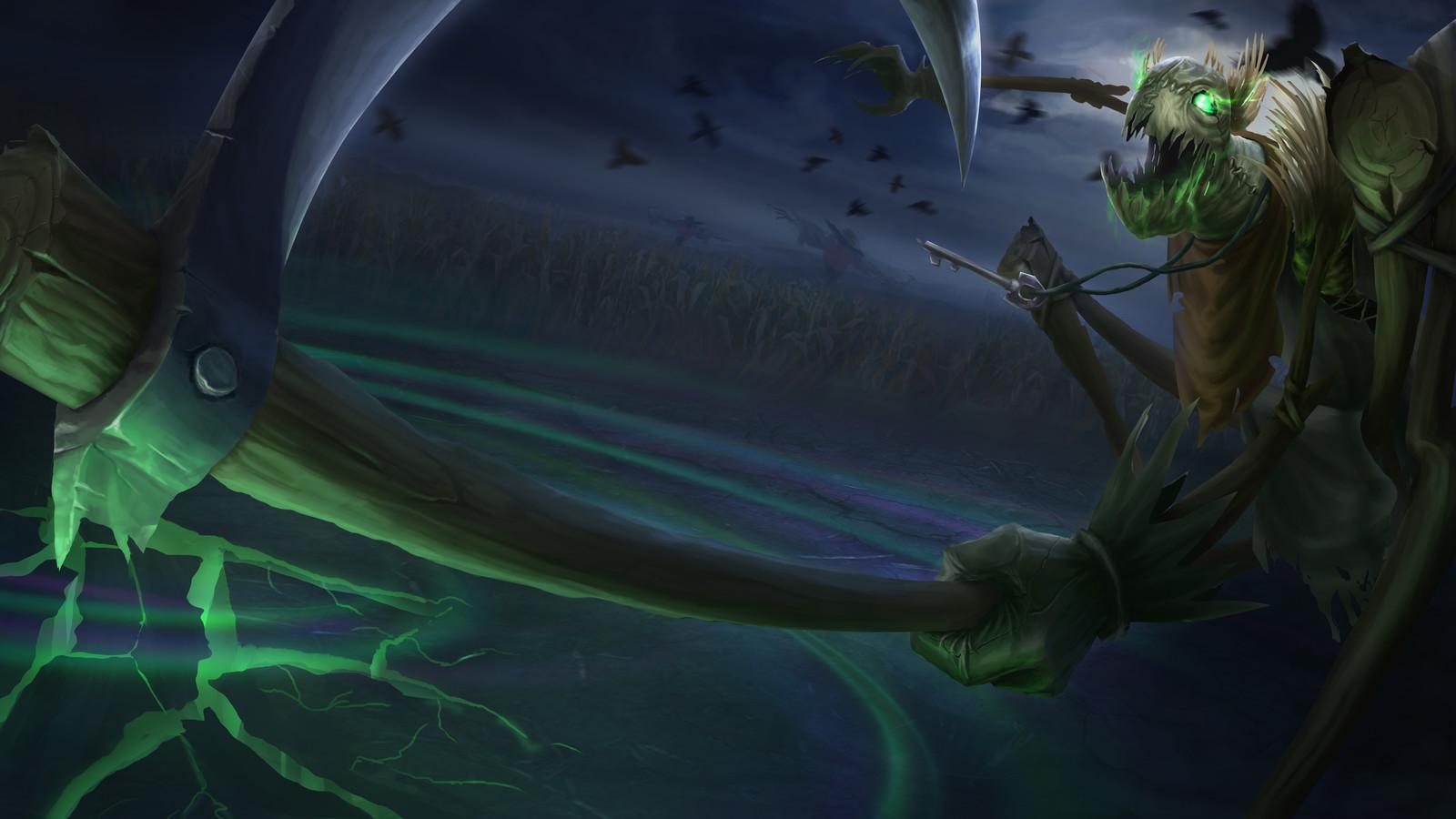 Artstation Fiddlesticks League Of Legends Fan Art Cilica Marius