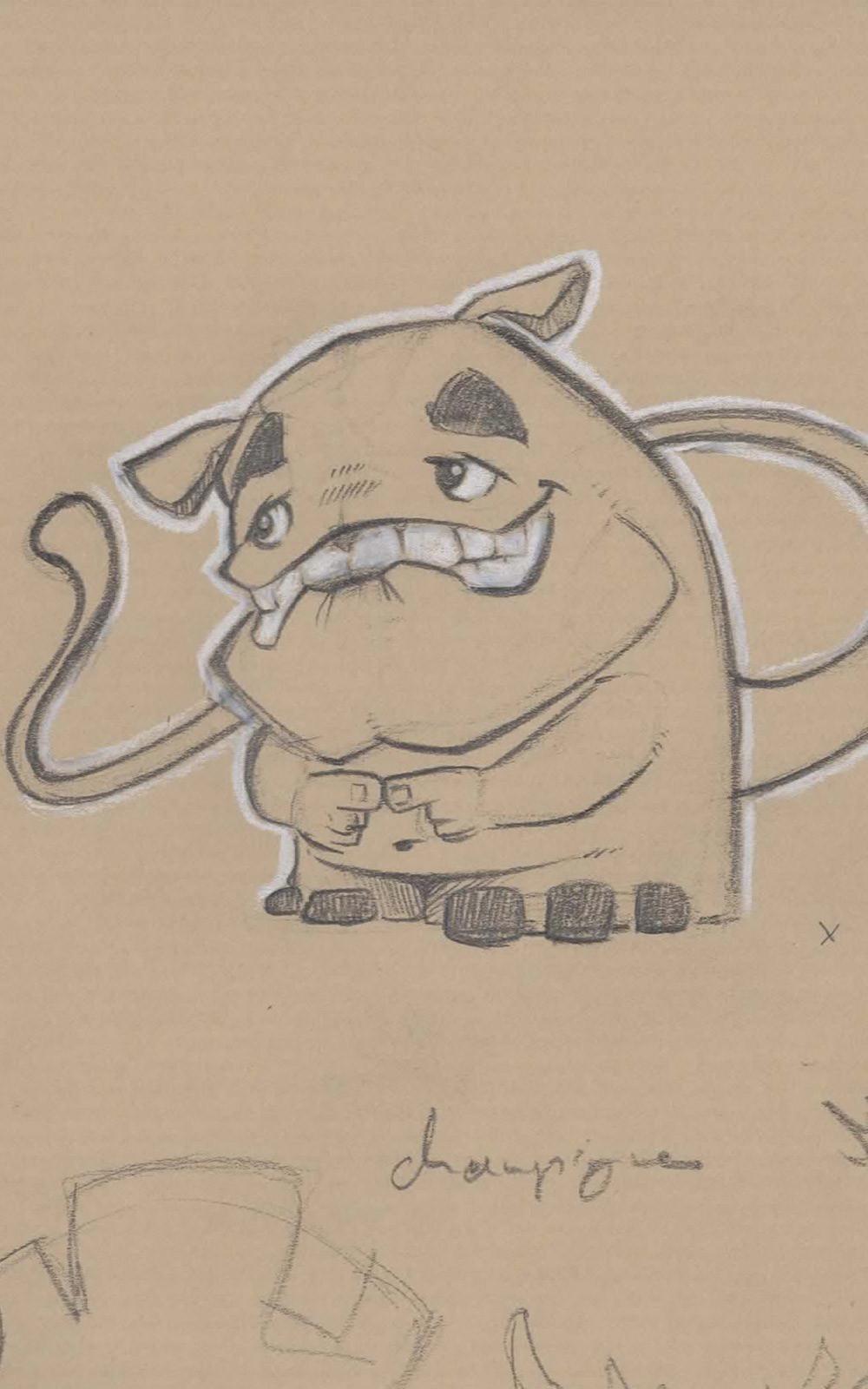 Atha kanaani cartes smile negatif1 sketch