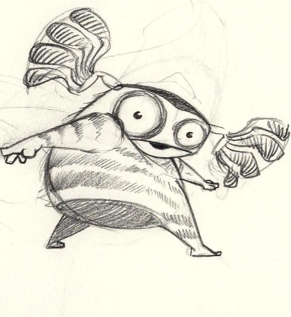 critter Smile neutral sketch 2
