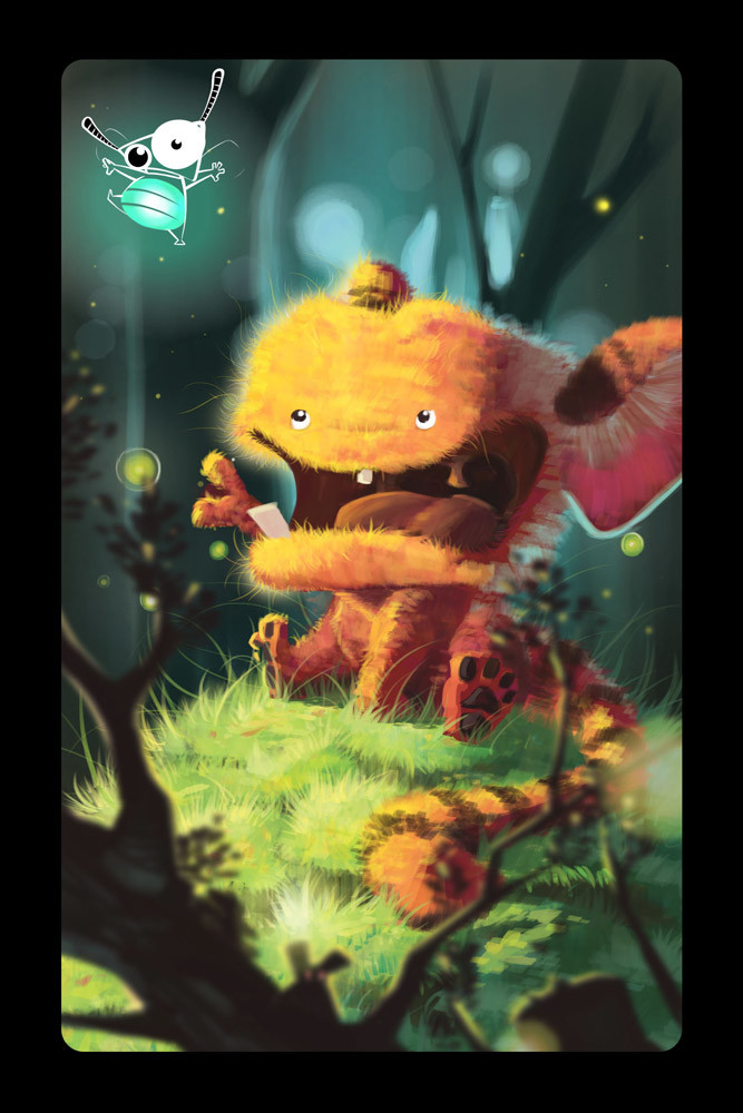 Critter for the card game SMILE