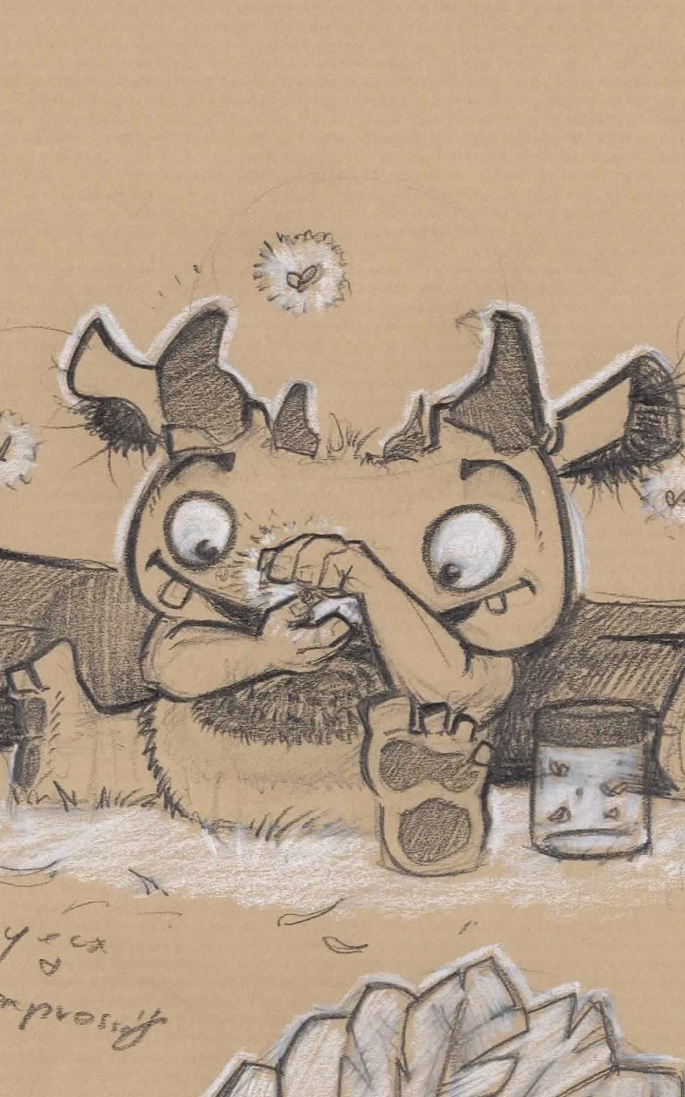 critter Smile positif 4 sketch