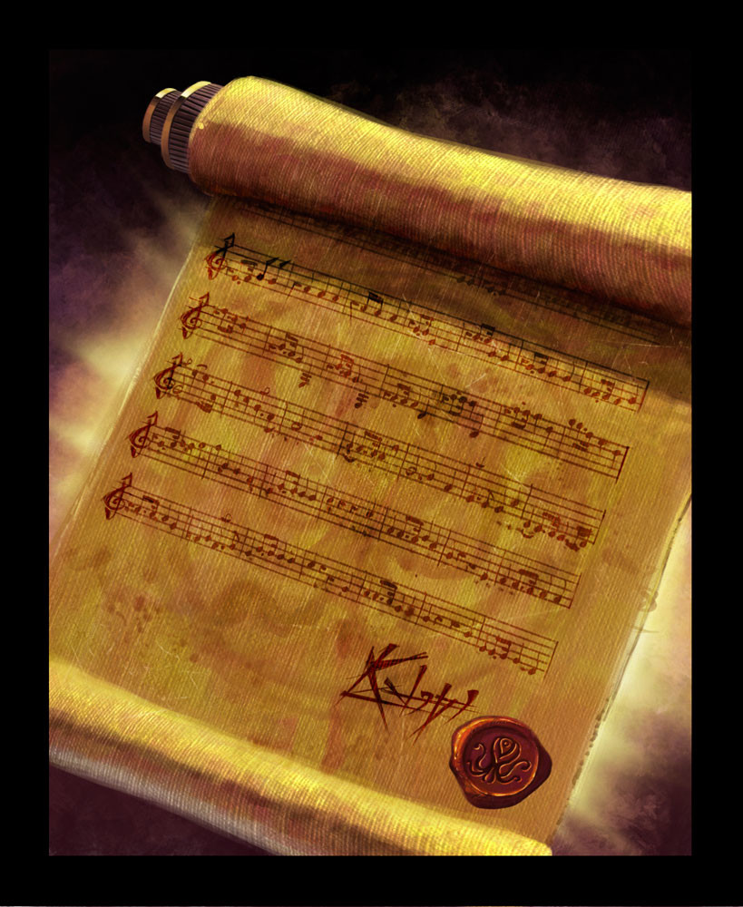 song of kadath card