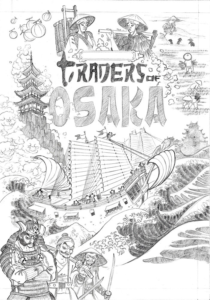 drawing of the cover