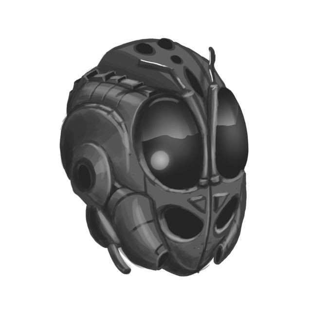 Concept Art Military Helmet