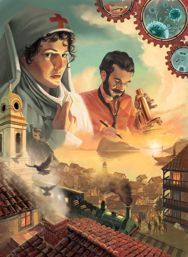 Final cover for Pandemic Iberia