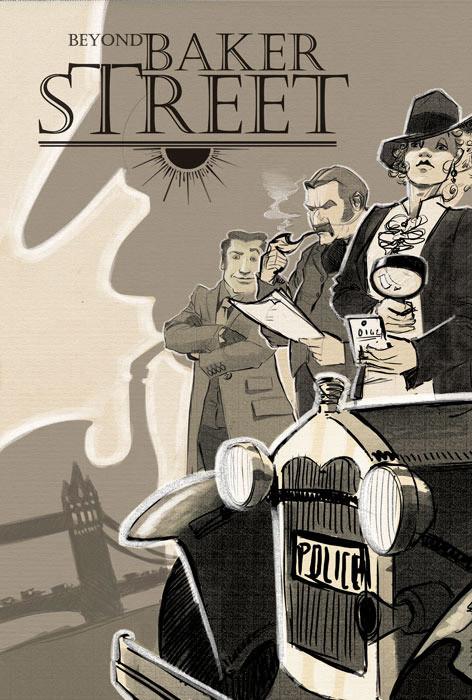 cover art beyond baker street sketch3