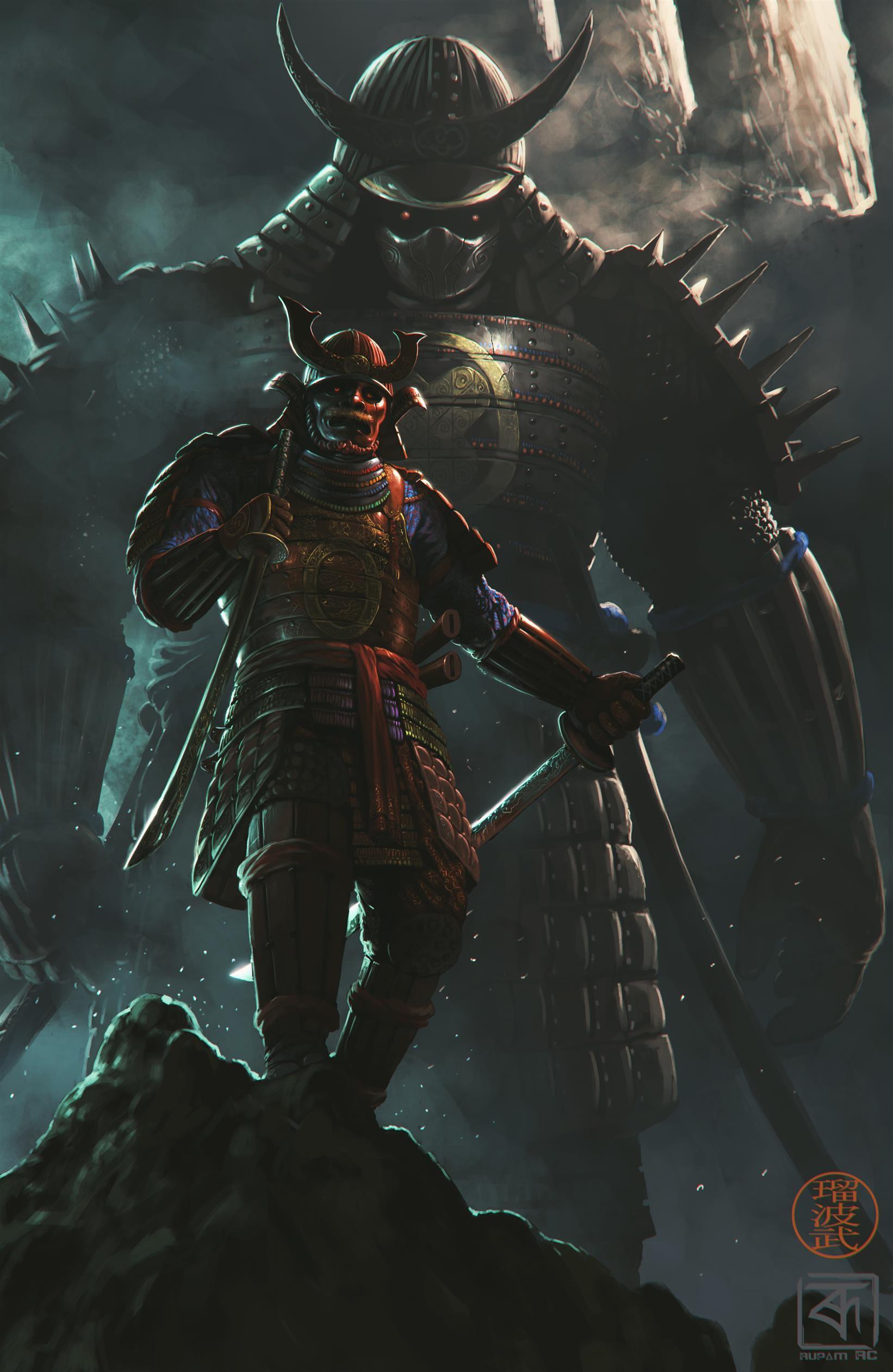 Artstation Warriors Of The Dark Rupam Raaj R