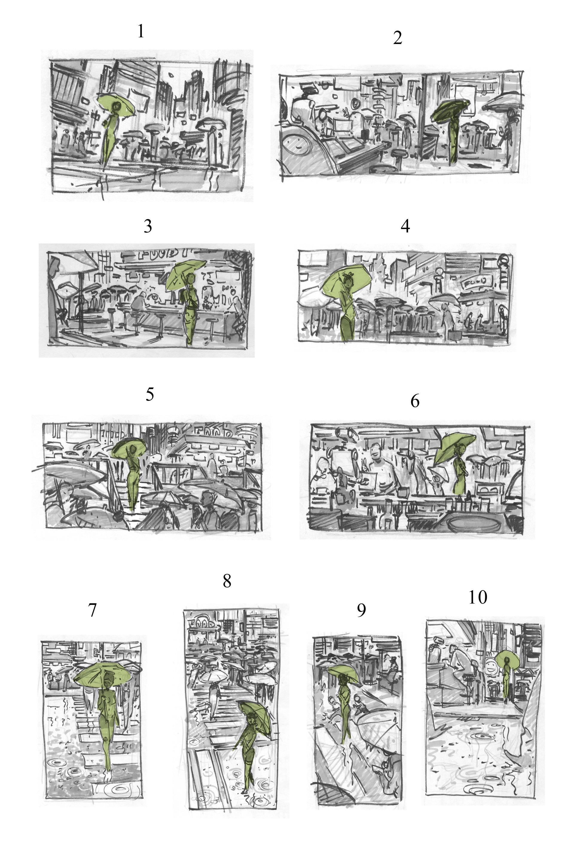 Roberto ricci sketches