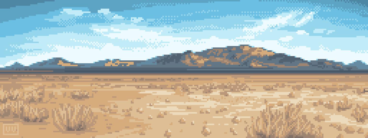 Pixelart Landscape Study