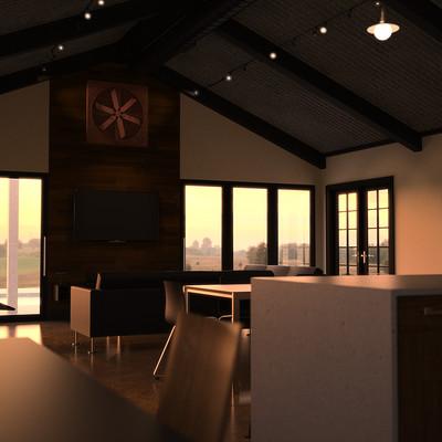 Huston petty sharkey interior for render scene 6