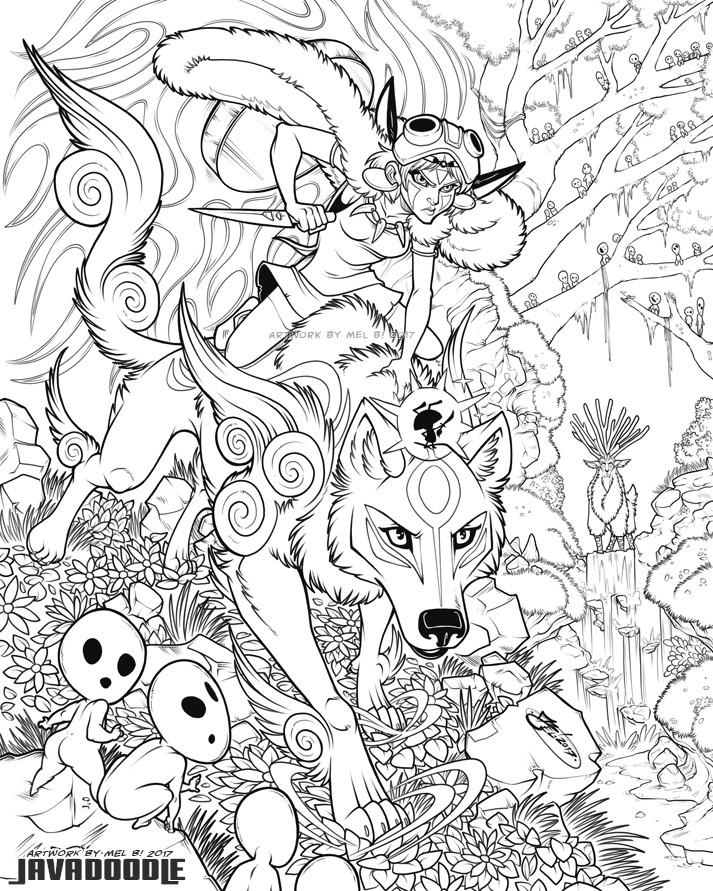 Inked Line Art