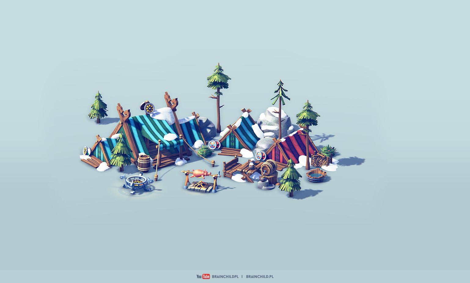 Rafal urbanski viking artstation 5