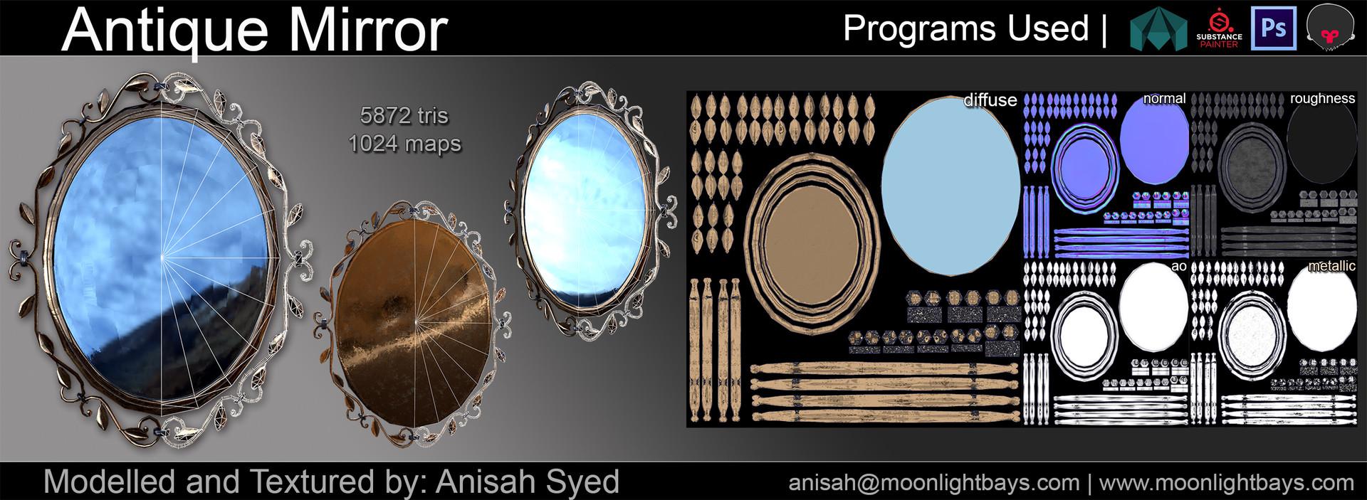 Anisah syed antiquemirrorpresentation