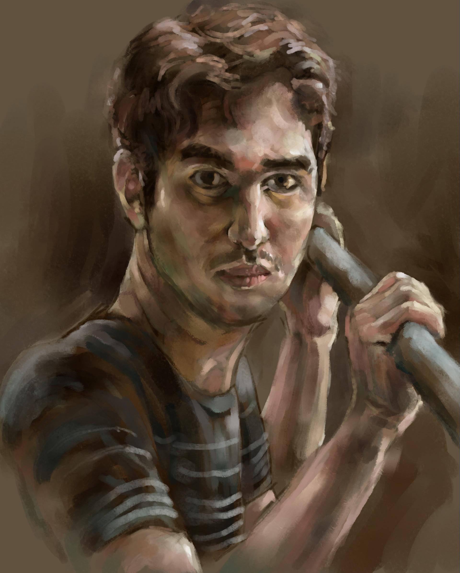 ArtStation - Reddit Gets Drawn portraits, Chris Catizzone