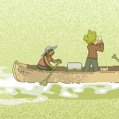 Samuel herb morning canoe