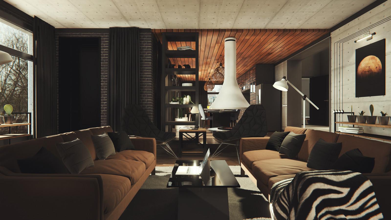 Modern Loft Interior Vol.1