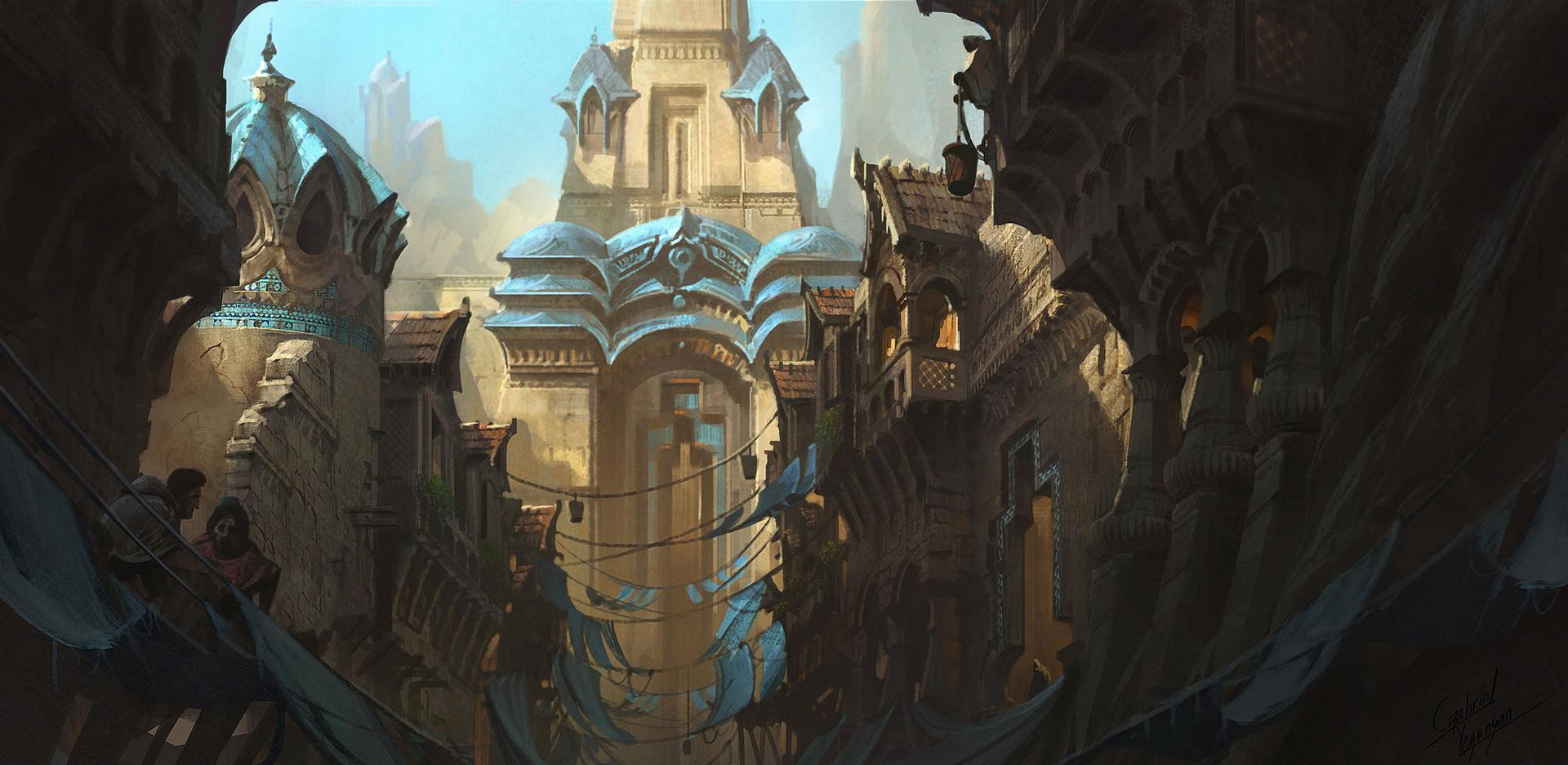 Concept Art City Fantasy