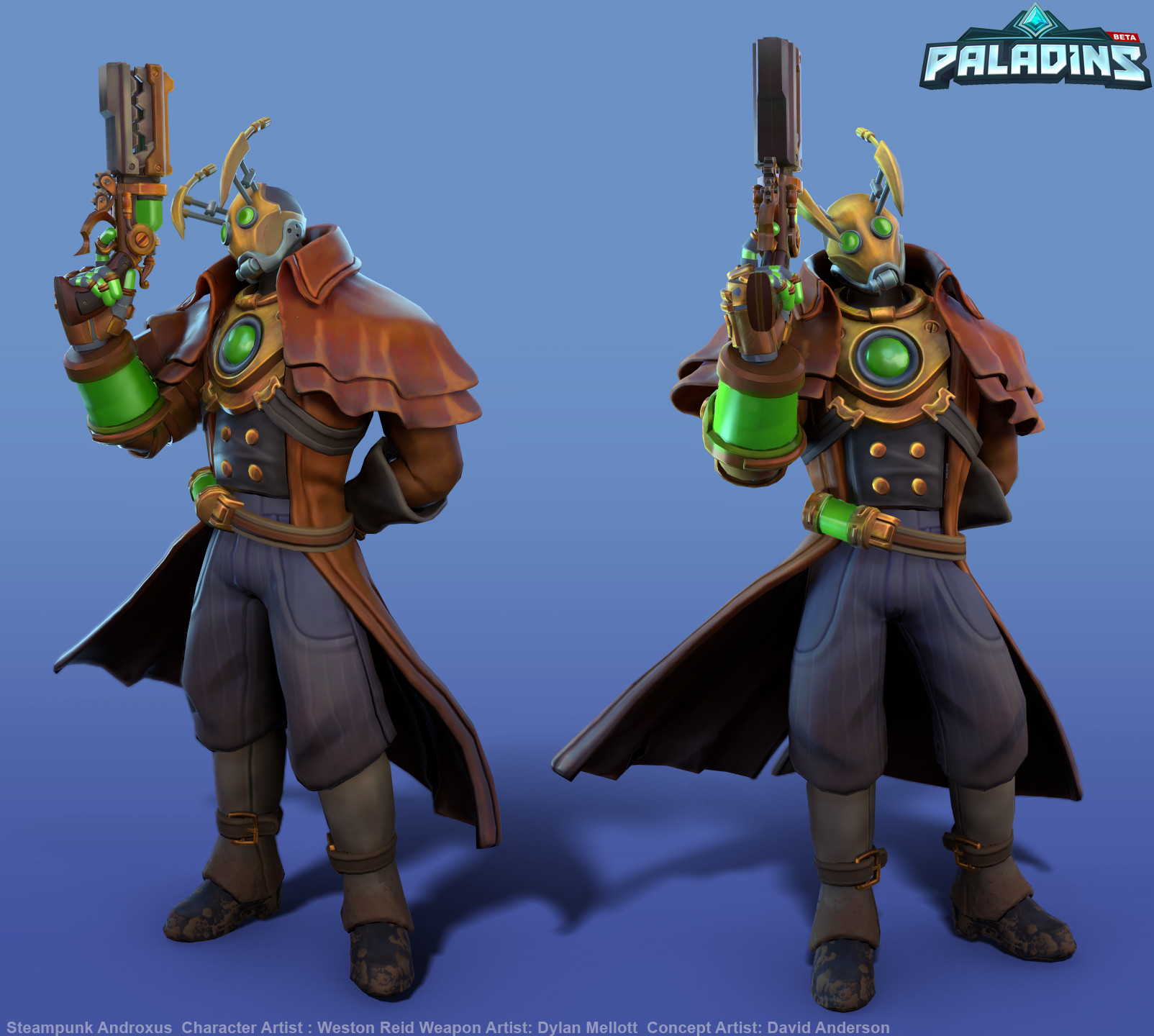 Weston reid steampunk androxus pose02
