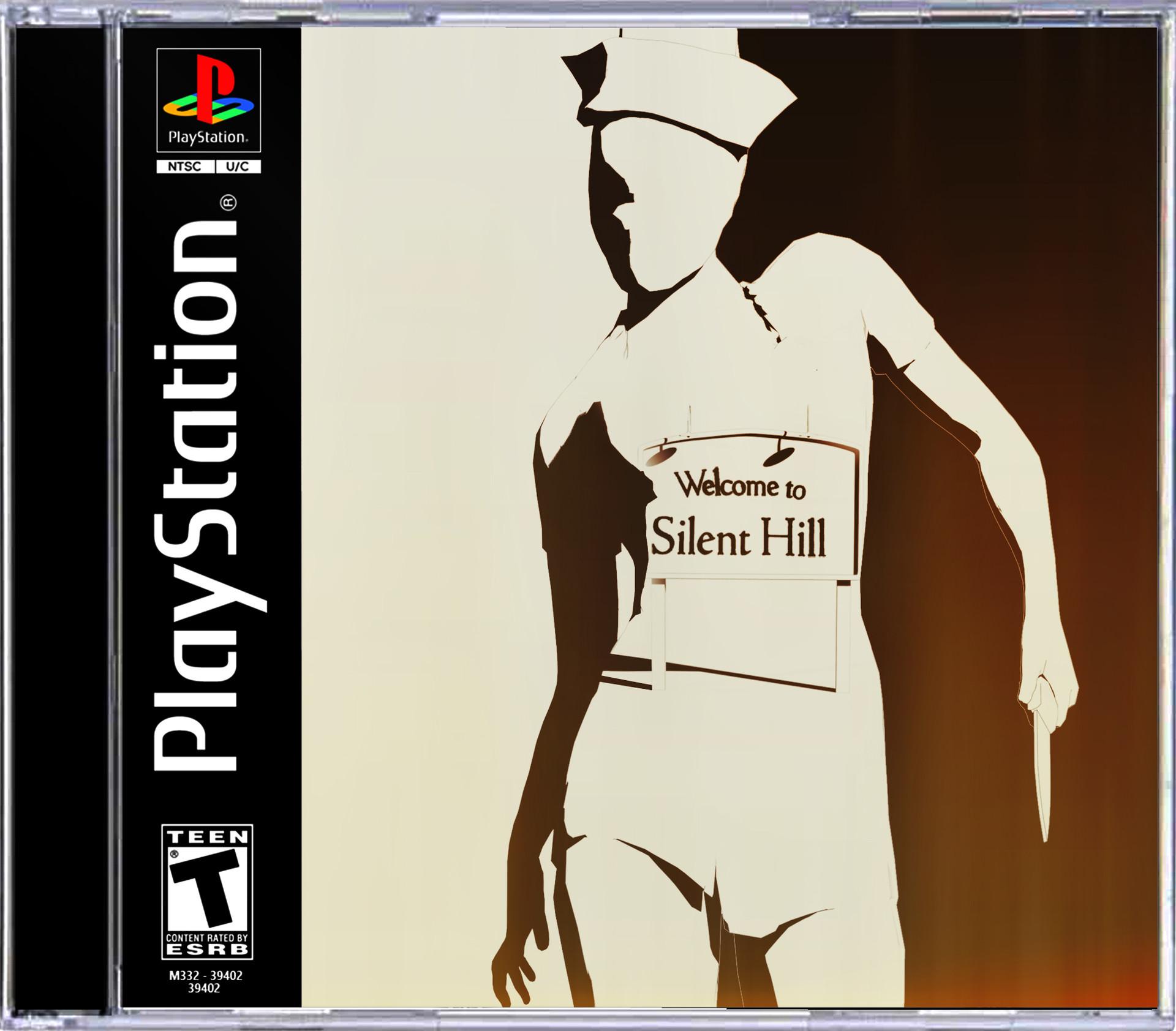 Ben nicholas ps1 gamecover silenthill