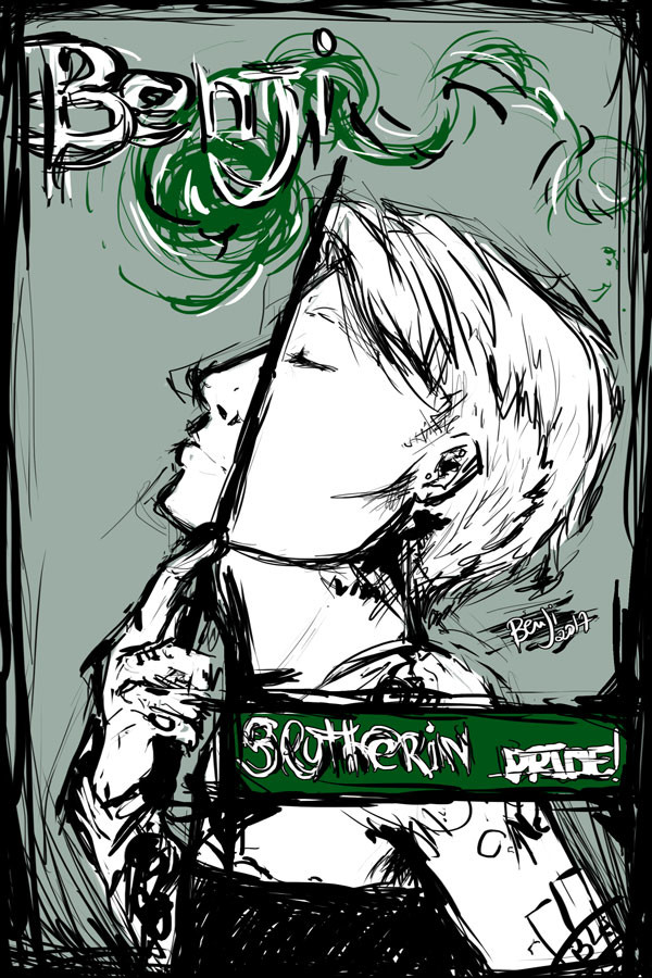 Benji Erthal Slytherinpride SELF PORTRAIT