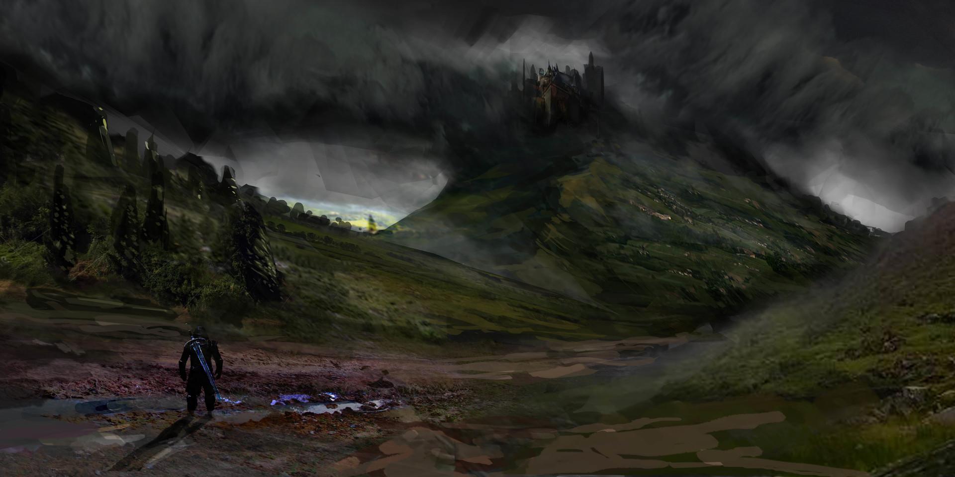 Pradal aurele paysage fantasy
