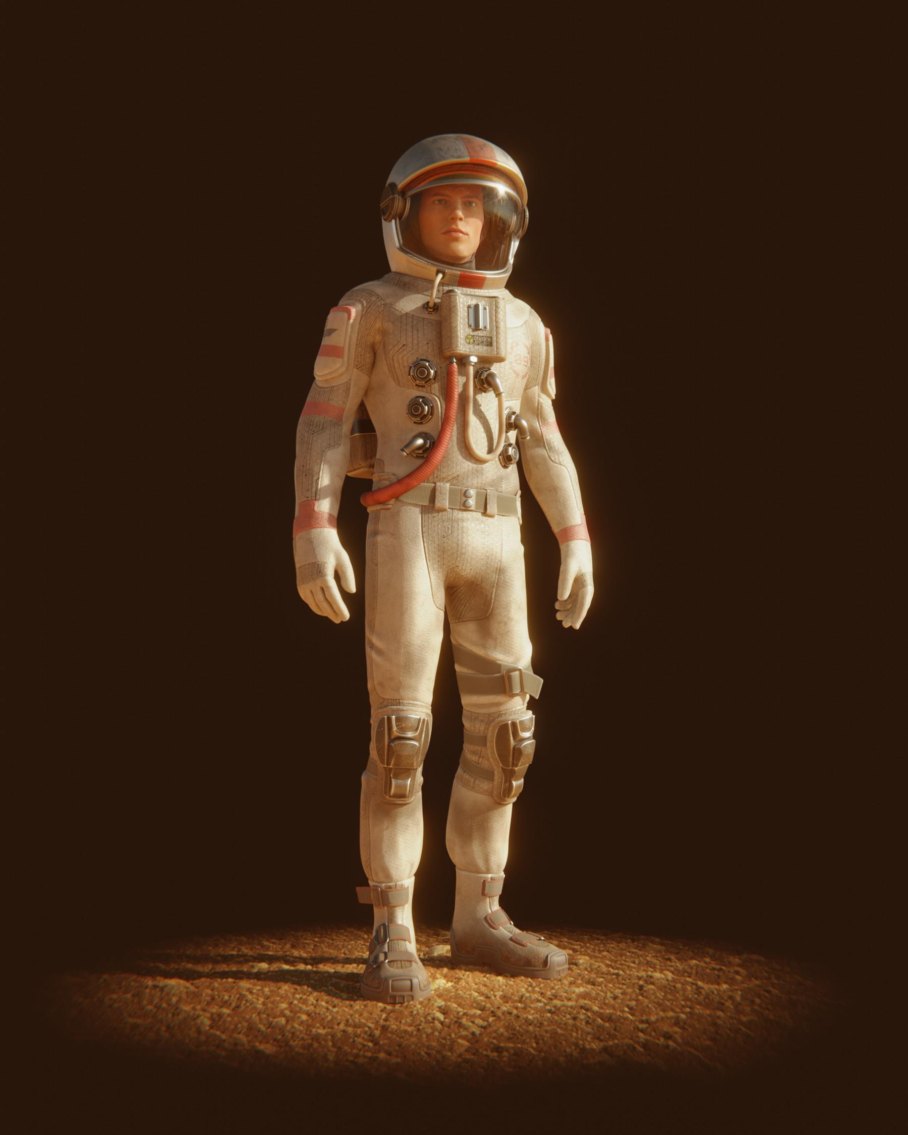 Lucas falcao austronaut suit high