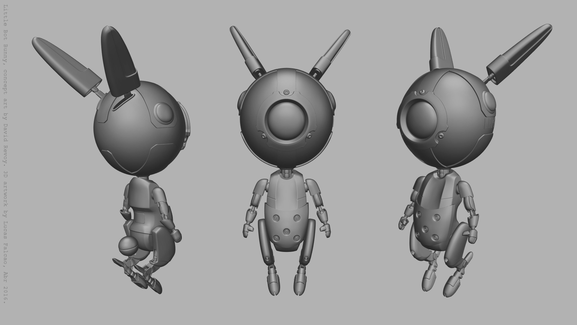 Lucas falcao little bot bunny wip3