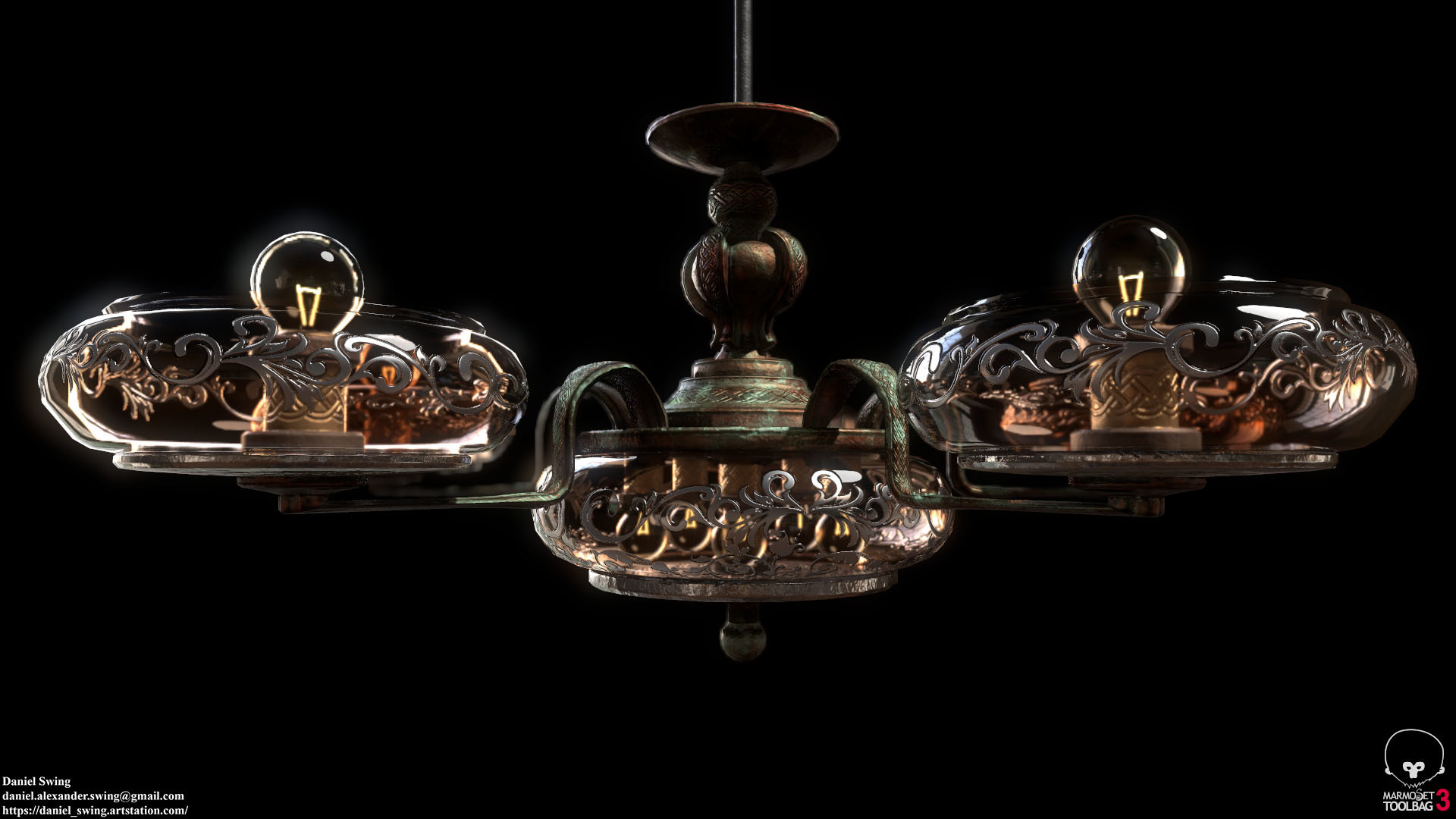 Daniel swing lamp 7