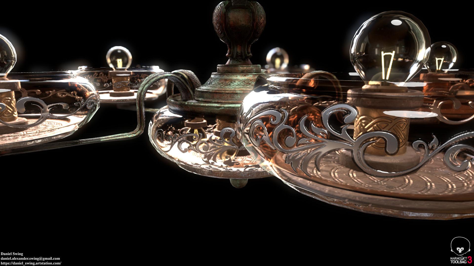 Daniel swing lamp 4