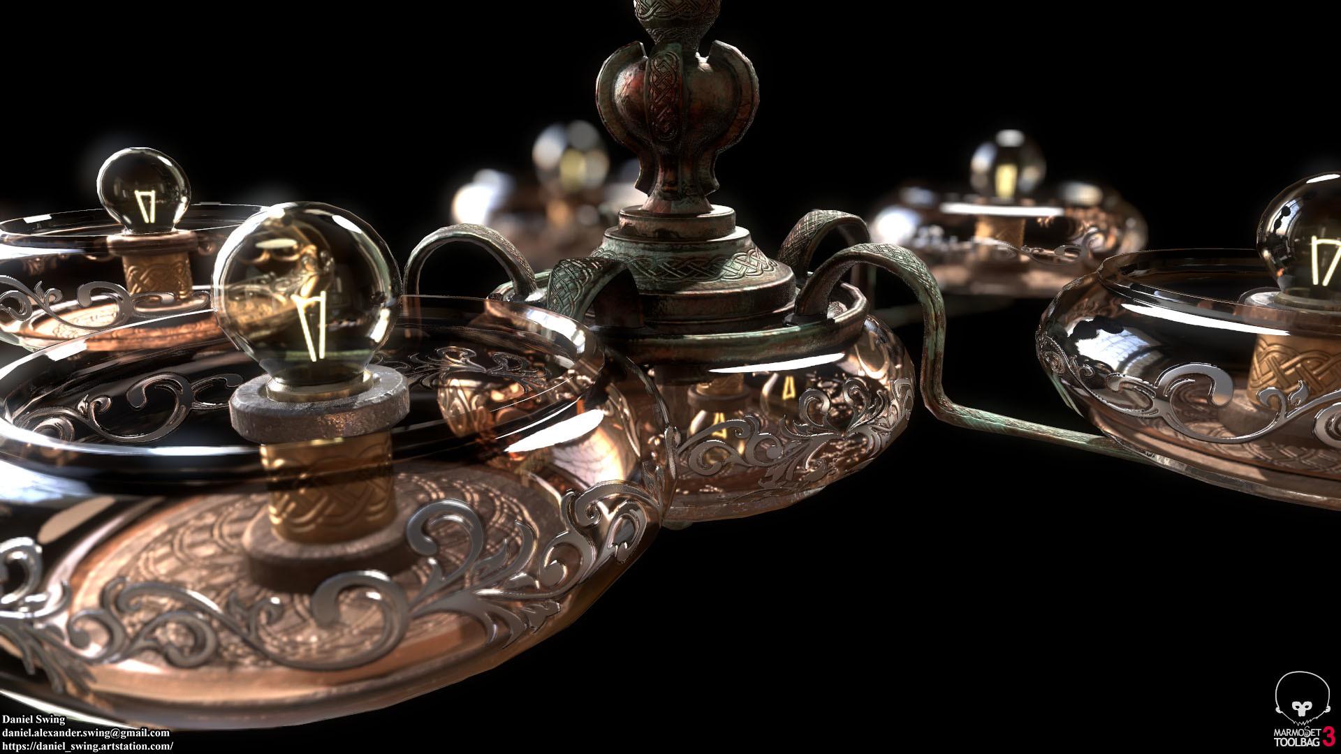 Daniel swing lamp 2