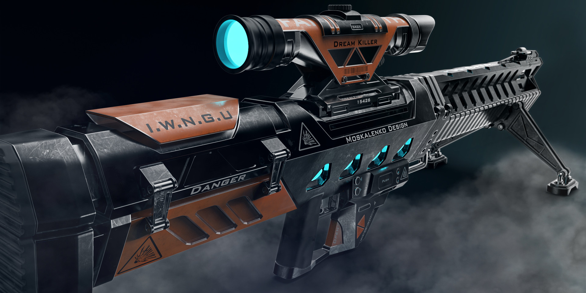 Concept Art Future Sniper Rifle
