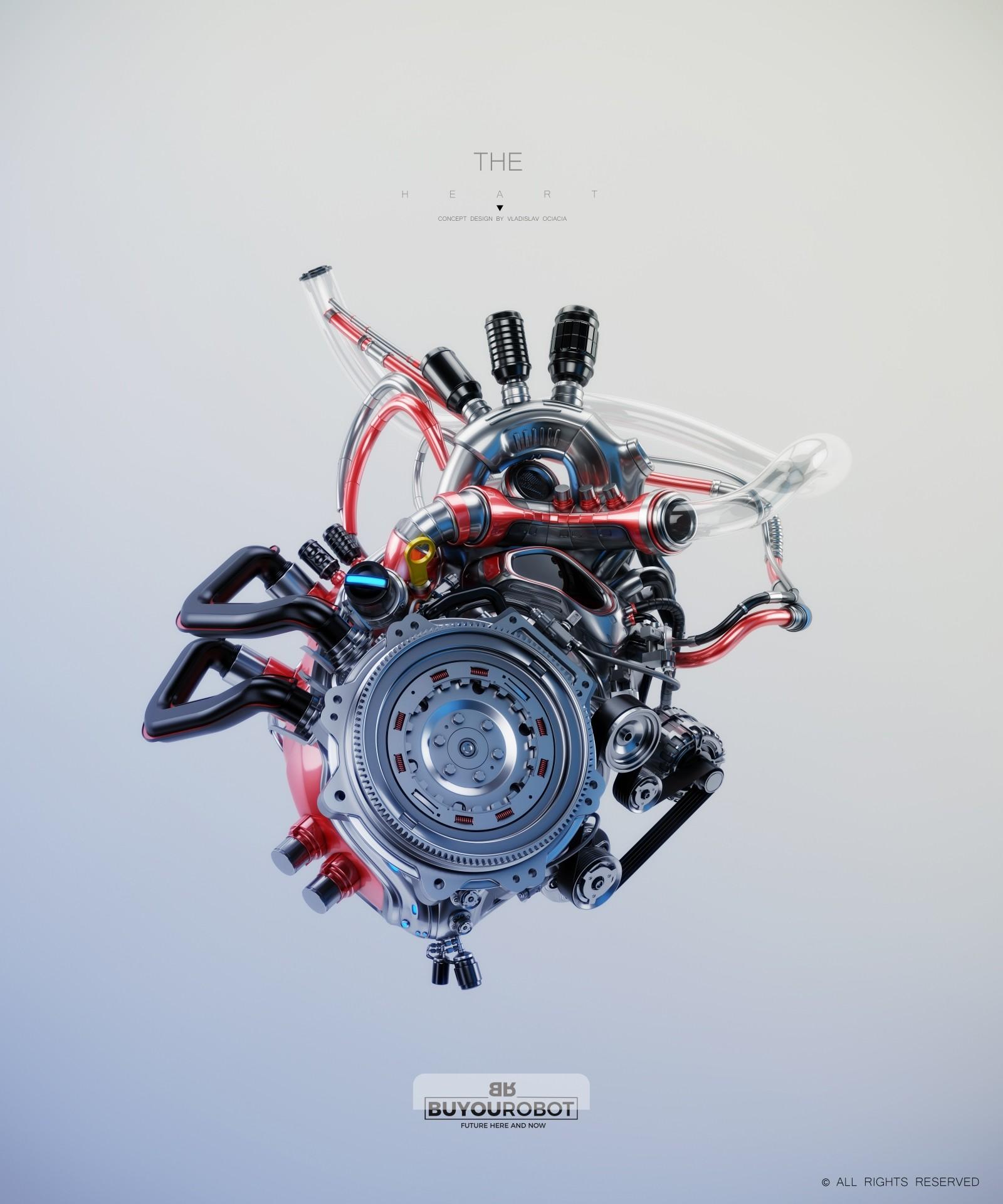 Vladislav ociacia heart robot 6